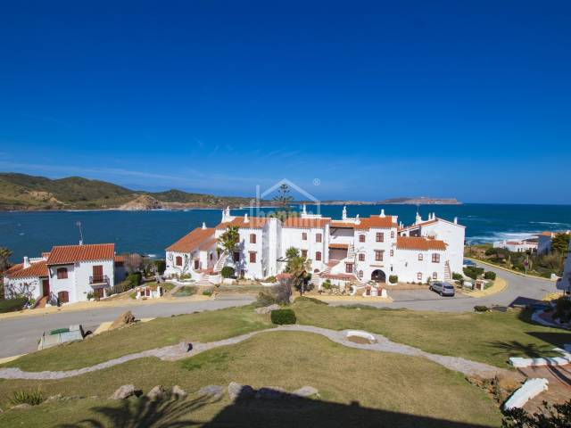 Superb apartment with sea views in Playa de Fornells, Menorca