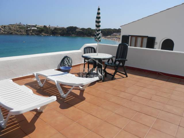 Front line apartment in Arenal d'en Castell, Menorca