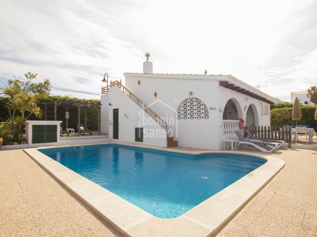 Superb villa in Binibeca with tourist license, Menorca