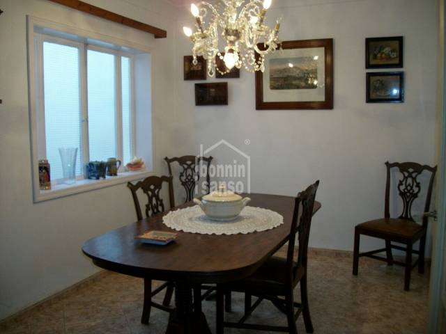 Charming well conserved town house in the center of Ciutadella