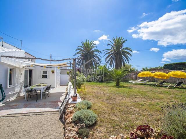 Delightful semi-detached cottage in Llumesanes, Mahon, Menorca
