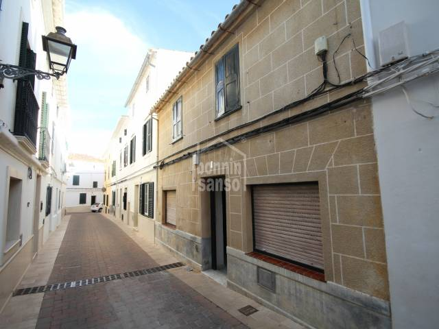 Typical Menorcan town house in Alayor, Menorca