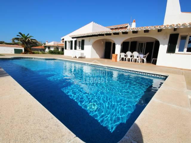 Villa en costa sur, Cap den Font - Menorca