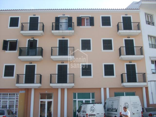 First floor apartment with views located in Alaior.