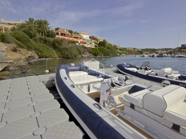 A unique and luxurious villa in a privileged front line position with panoramic views of the Port of Mahon