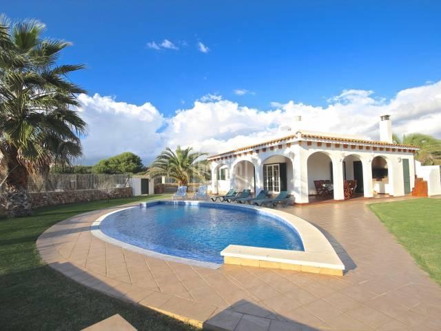 Modern villa in Cap d'en Font, Menorca
