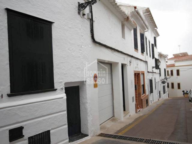 Townhouse in the center of Alayor Menorca