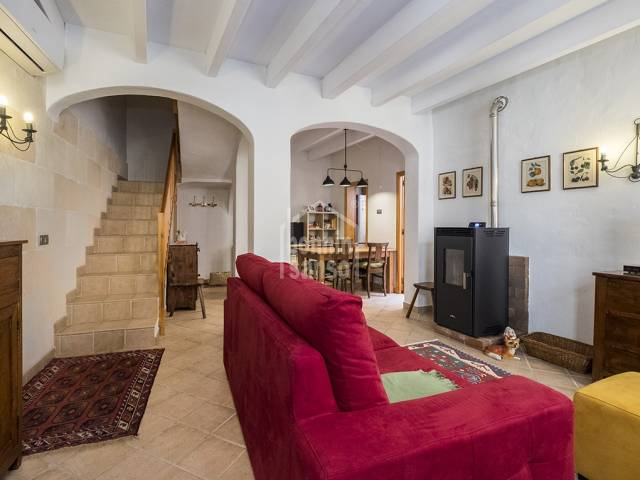 "Charming menorcan townhouse with patio and terrace in the center of Ciutadella, the ""Casco Antiguo"". Menorca"