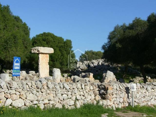 Talaiot en la Costa Sur de Menorca
