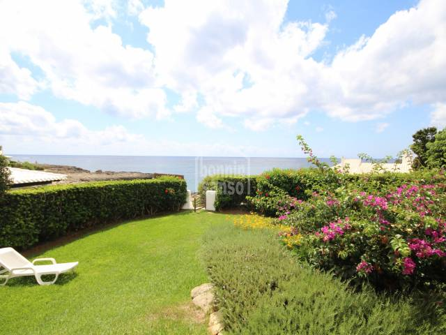 Beautiful villa on the seafront in Binibeca, San Luis, Menorca