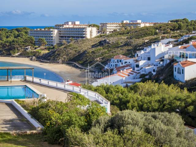 Attractive, first floor apartment in Arenal d'en Castell, Menorca.