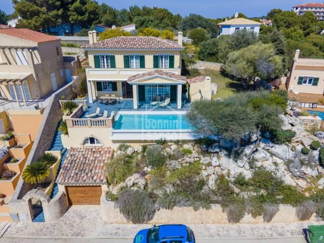 Villa in San Jaime with spectacular sea view, Menorca