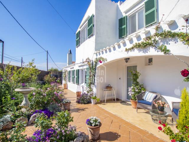 Beautiful home situated between Mahon and Es Castell in Menorca.