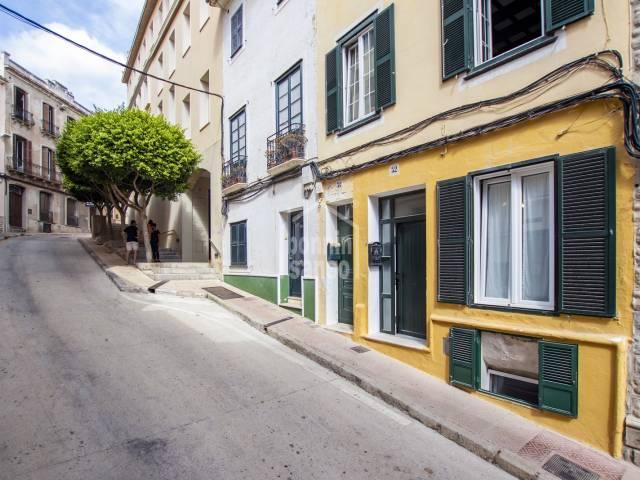Cosy ground floor in Mahón, Menorca