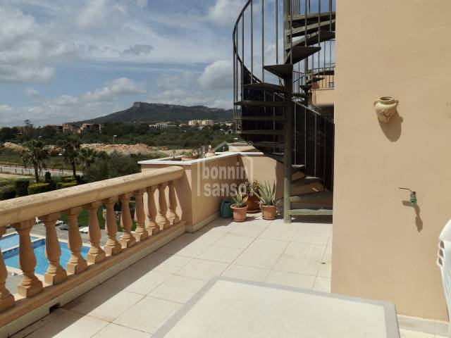 Penthouse apartment with two terraces, Cala Bona, Mallorca