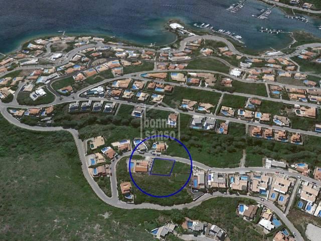 Plot of land in Cala Llonga, Mahon, Menorca
