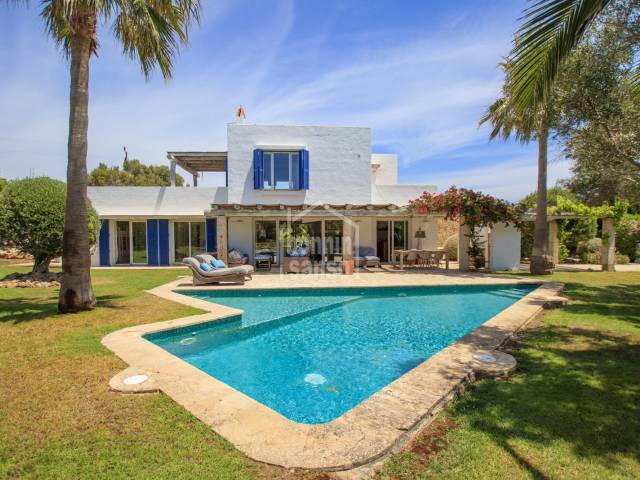 Contemporary home on the South coast of Menorca