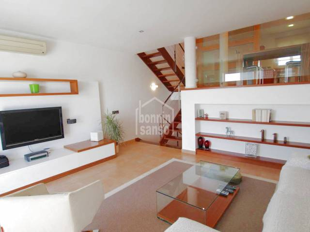 Town house with pool located just a short walk from the center of Mahon, Menorca
