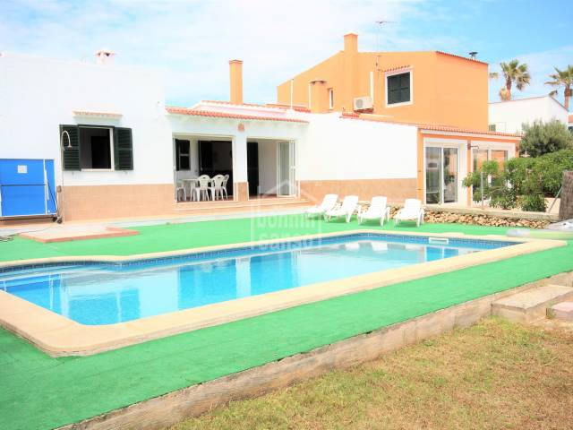Swimming Pool - Villa in Calan Blanes