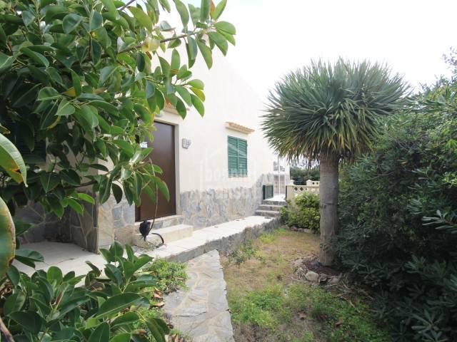 Chalet individual en S'Algar, Menorca