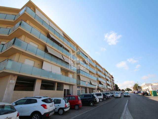 Modern apartment with lift in Mahón, Menorca.