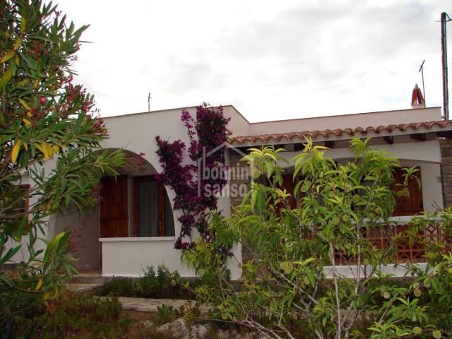 Villa in Calan Porter. Menorca