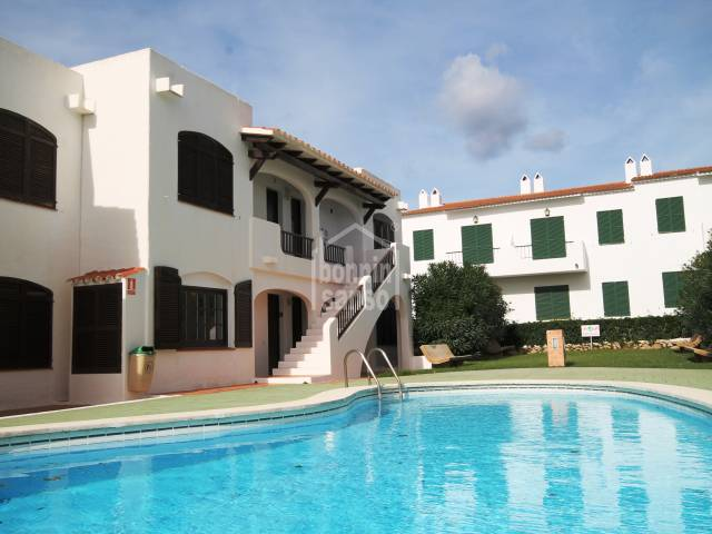 Ground floor apartment in a lovely complex in Son Parc, Menorca