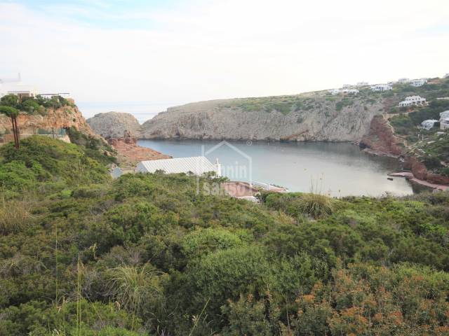 Beautiful building plot with views to the sea and Cala Cala Morell, Ciutadella, Menorca