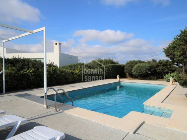 Villa with TOURIST LICENSE in Cala Morell, Ciutadella, Menorca