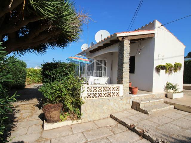 Single story villa in the centre of Calan Porter, Menorca