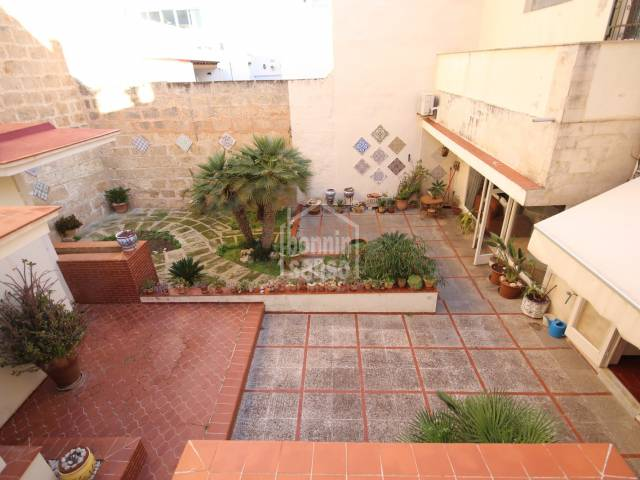 House on the ground floor a few meters from the center of Ciutadella, Menorca