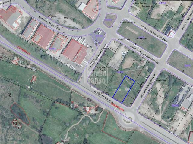 Plot of land in the industrial estate of Alayor, Menorca