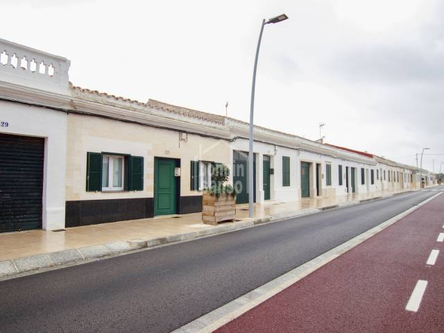 Interesting property with garden in Mahón, Menorca