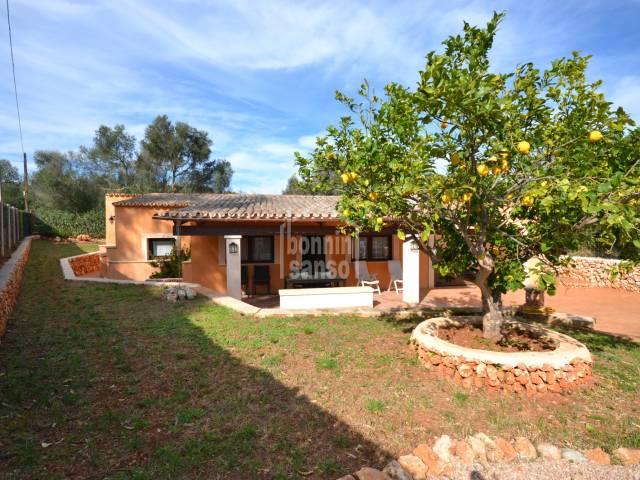 Bonita casa de campo en Cala Bona. Mallorca