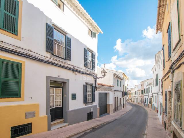 Pretty town house with terraces in Alayor, Menorca