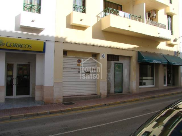 Commercial Premises/Business in Es Castell (Town)