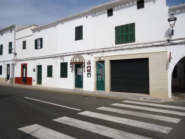 Fantastic property converted in restaurant in Es Mercadal, Menorca