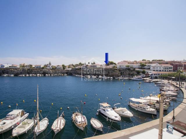 Villa en primera linea Santa Ana. Es Castell. Menorca