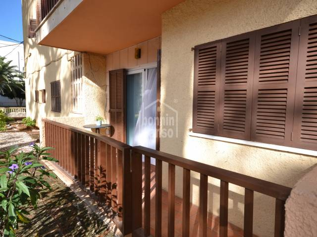 Ground floor apartment situated in the centre of Cala Millor, Mallorca