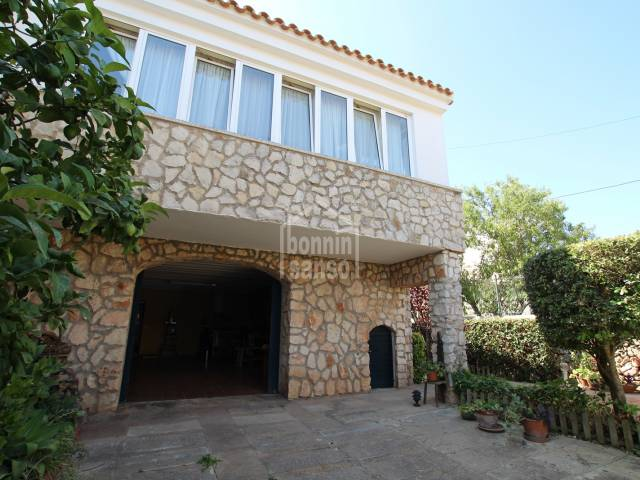 Detached house located very close to the center of Sant Lluis, Menorca