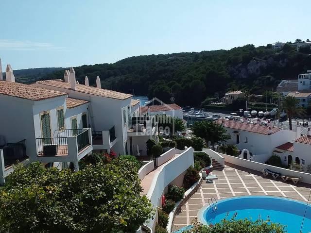 Top floor apartment with great views, Port Addaya, Menorca
