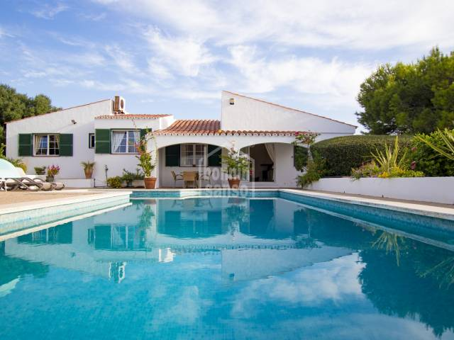 Atrractive villa in Binibeca with a TOURIST LICENSE  Menorca