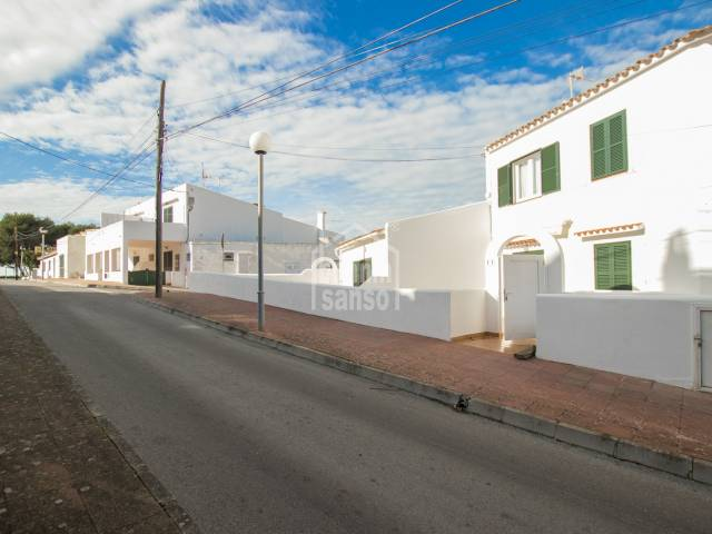 Apartment in the centre of Calan Porter, south coast of Menorca