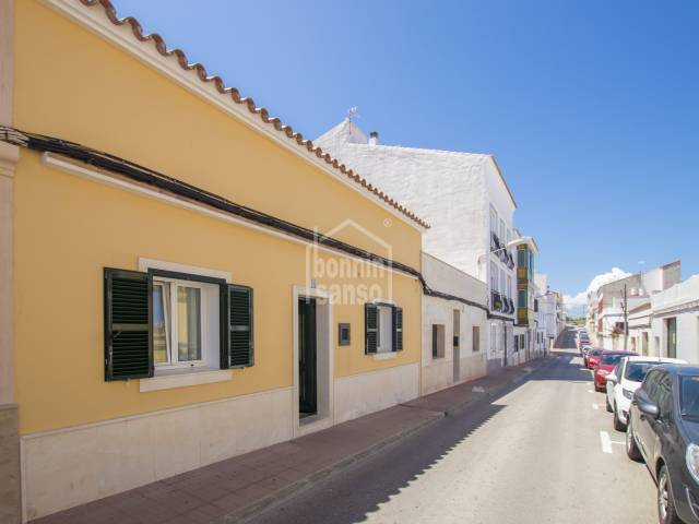 Terraced house in Es Castell, Menorca
