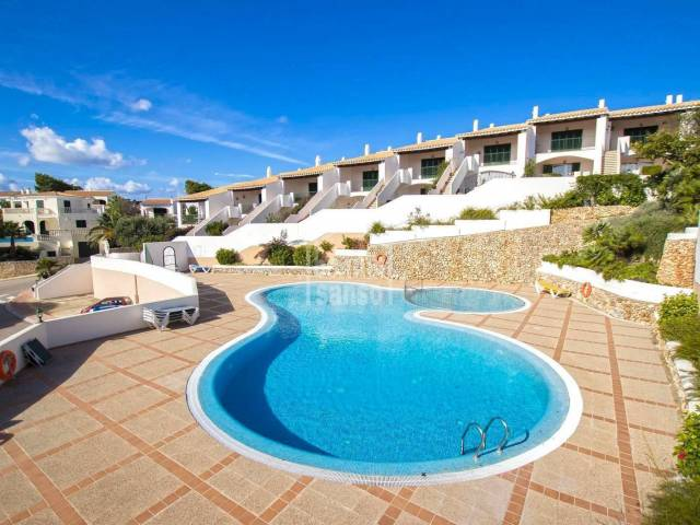 Beautiful ground floor apartment in Addaya, Menorca