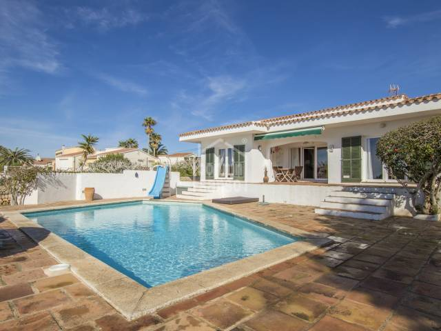 Lovely family home in Binixica, Menorca