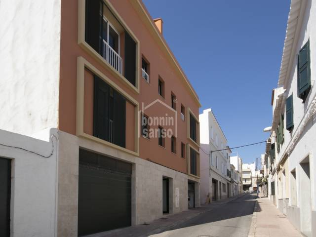 Newly built penthouse of new construction in the center of Mahón, Menorca.