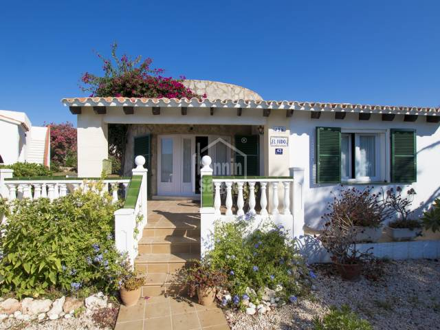 Villa with sea views Salgar Menorca