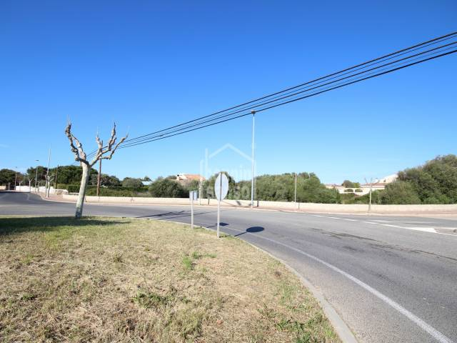 Magnificent plot for residential housing very close to Ciutadella, Menorca.