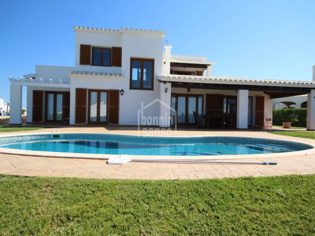 Magnificent,  detached villa with sea view in Cala Morell, Ciutadella, Menorca